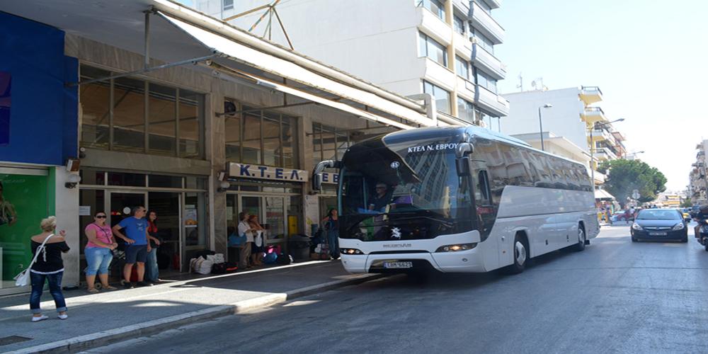 ΚΤΕΛ Έβρου: Τα χειμερινά δρομολόγια των Υπεραστικών λεωφορείων σε όλο το νομό. ΠΙΝΑΚΑΣ