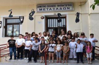Εγκρίθηκε απ' τον υπουργό Παιδείας η λειτουργία παραρτήματος του Νηπιαγωγείου Μεταξάδων στο Ασπρονέρι