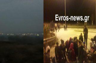 Οι Τούρκοι διακινητές βάζουν φωτιές στους ορυζώνες για να περνούν εύκολα τους λαθρομετανάστες