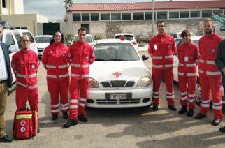 Διδυμότειχο: Παρέλαβαν αυτοκίνητο για τις ανάγκες τους οι εθελοντές του Ερυθρού Σταυρού