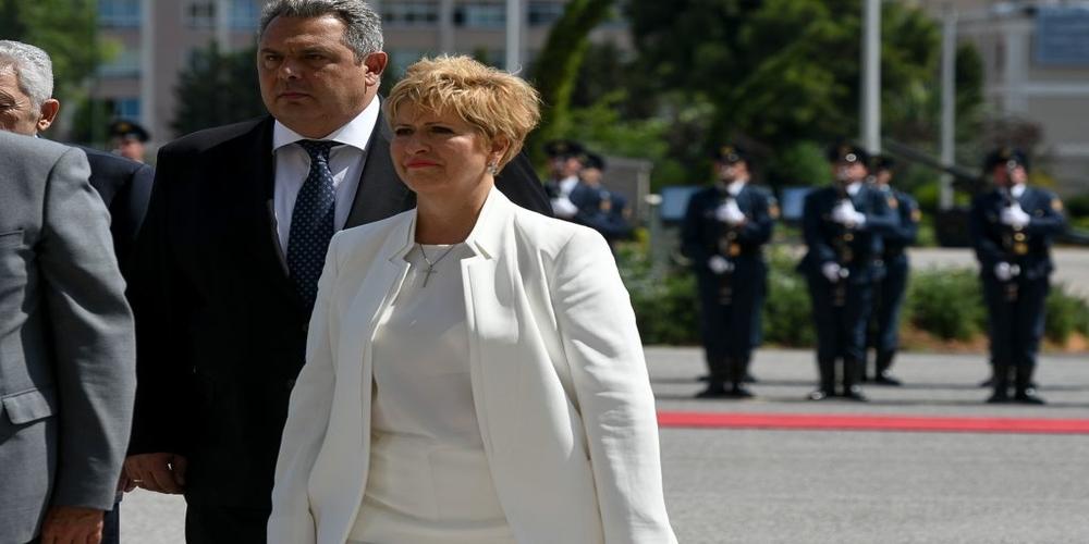 Αποδοκιμασίες κατά Καμμένου. Άγριο κράξιμο κατά Κόλλια-Τσαρουχά για το ξεπούλημα της Μακεδονίας μας