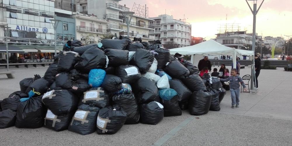 Ορεστιάδα: Τεράστια ανταπόκριση και συμμετοχή στην συγκέντρωση πλαστικών καπακιών για ενίσχυση των ατόμων ΑΜΕΑ