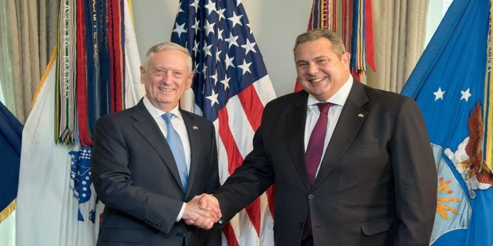 Βάσεις των ΗΠΑ σε Αλεξανδρούπολη, Βόλο, Λάρισα πρότεινε ο Καμμένος στον Αμερικανό υπ. Άμυνας. Πανηγυρική ΕΠΙΒΕΒΑΙΩΣΗ του Evros-news.gr