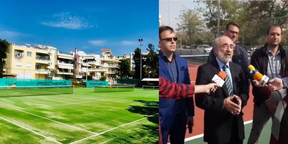 Στην Καβάλα φτιάχνουν και παραδίδουν αθόρυβα γήπεδα τένις, ενώ στην Αλεξανδρούπολη ο Λαμπάκης οργανώνει… φιέστες
