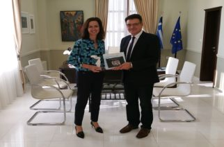 Συνάντηση του Αντιπεριφερειάρχη Δημήτρη Πέτροβιτς με την Πρέσβη της Αυστραλίας