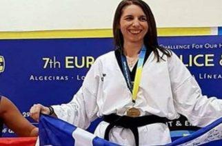 Τίμησε την χρυσή Εβρίτισσα Σαραντούλα Παγωνάκη η ηγεσία του υπουργείου Προστασίας του Πολίτη