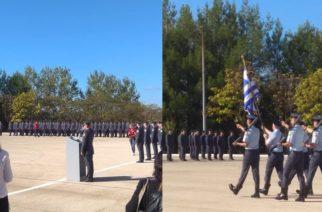 Πραγματοποιήθηκε η τελετή ονομασίας και απονομής πτυχίων σε νέους Αστυφύλακες της Σχολής Διδυμοτείχου