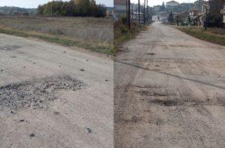 Ορμένιο: Παρατημένος χρόνια σε αυτή την κατάσταση ο δρόμος προς τον σιδηροδρομικό σταθμό
