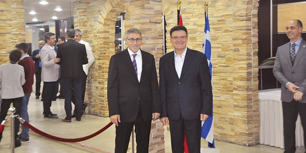 Στον Τούρκο Πρόξενο Κομοτηνής ο Δημήτρης Πέτροβιτς. Του ευχήθηκε για τα 95 χρόνια Τουρκικής Δημοκρατίας