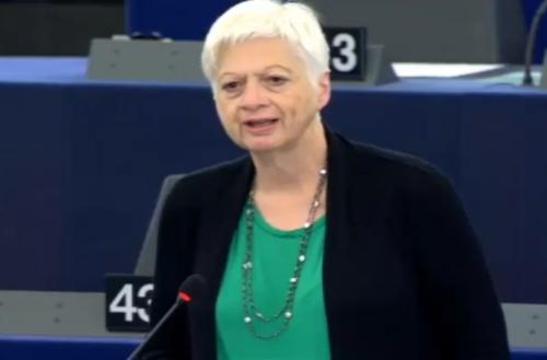 Καταπέλτης η Κύπρια ευρωβουλευτής Ελένη Θεοχάρους στο Ευρωκοινοβούλιο κατά της Αλβανίας για τη δολοφονία Κατσίφα (ΒΙΝΤΕΟ)