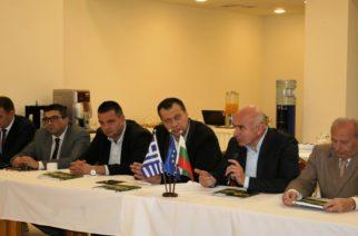 Στην 3η Τεχνική Συνάντηση του έργου Ελληνοβουλγαρικής συνεργασίας «Flood Protection», μίλησε ο Περιφερειάρχης Χρήστος Μέτιος