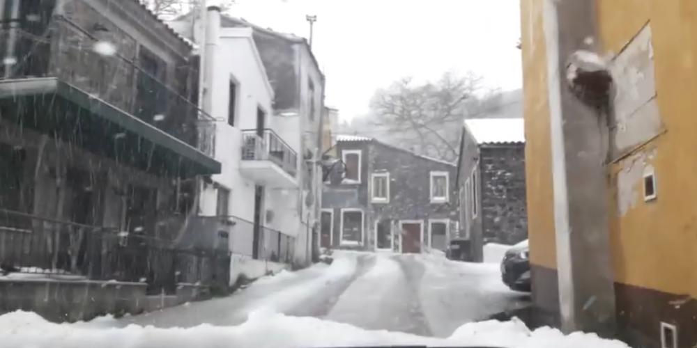 Σαμοθράκη: Έκλεισαν Παιδικός Σταθμός, Νηπιαγωγείο και Κ.Δ.Α.Π λόγω χιονιού και παγετού (ΒΙΝΤΕΟ)