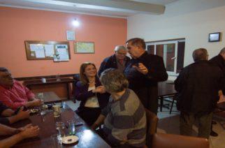 Σε Μεγάλη Δοξιπάρα και Θούριο συζήτησε με τους κατοίκους η υποψήφια δήμαρχος Μαρία Γκουγκουσκίδου