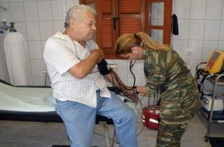 Δωρεάν εξετάσεις σε δυο χωριά της Ορεστιάδας από Ιατρικό Στρατιωτικό Κλιμάκιο