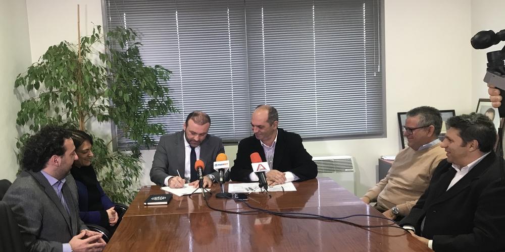 Αλεξανδρούπολη: Υπογραφή Συμφώνου Συναντίληψης και Συνεργασίας ΔΕΥΑΑ και Εμπορικού Συλλόγου