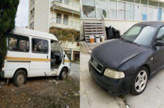 """Αλεξανδρούπολη: Έχει μετατραπεί και σε """"νεκροταφείο"""" αυτοκινήτων το παλαιό Νοσοκομείο"""