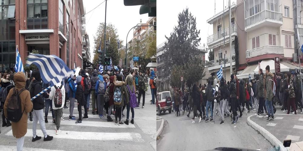 ΜΠΡΑΒΟ ΠΑΙΔΙΑ: Ξεσηκώθηκαν και στην Αλεξανδρούπολη οι μαθητές για την Μακεδονία μας (φωτορεπορτάζ)