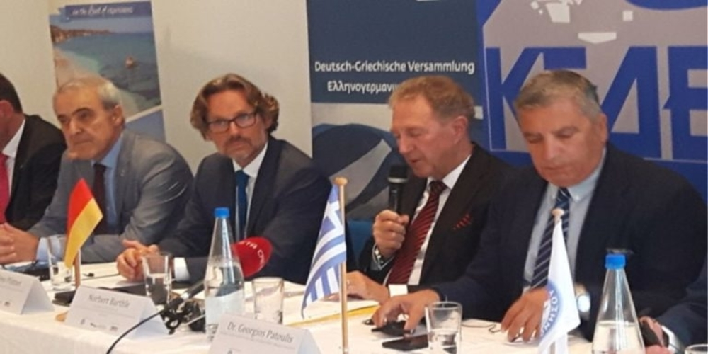 Ο Εβρίτης Πρόεδρος του ΚΑΠΕ Βασίλης Τσολακίδης, συνυπέγραψε την διακήρυξη της Ελληνογερμανικής Συνέλευσης