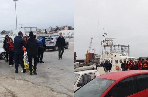 Αλεξανδρούπολη: Το Λιμενικό διέσωσε 34 λαθρομετανάστες, ανάμεσα τους πολλά παιδιά
