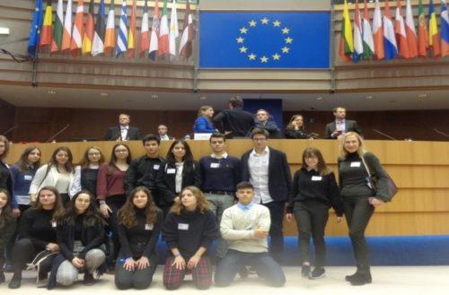 Μαθητές από Αλεξανδρούπολη και Ξάνθη στο Ευρωπαϊκό Κοινοβούλιο στις Βρυξέλλες