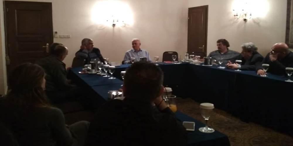Συναντήσεις και επαφές στην Αλεξανδρούπολη είχε απόψε ο υποψήφιος Περιφερειάρχης Κώστας Σιμιτσής