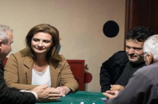 Τα πολλά και άλυτα προβλήματα της Στέρνας Ορεστιάδας άκουσε απ' τους κατοίκους η υποψήφια δήμαρχος Μαρία Γκουγκουσκίδου