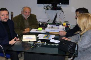 Αλεξανδρούπολη: Επίσκεψη υποψήφιου δημάρχου Γιάννη Ζαμπούκη στον ΟΛΑ και ενημέρωση απ' τον Χρ.Δούκα