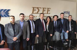 Επανεκλογή του Κωνσταντίνου Χατζημιχαήλ στο Δ.Σ της Ελληνικής Συνομοσπονδίας Εμπορίου και Επιχειρηματικότητας