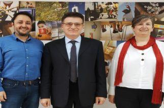 Επίσκεψη του Αντιπεριφερειάρχη Δημήτρη Πέτροβιτς στο Παιδικό Χωριό SOS