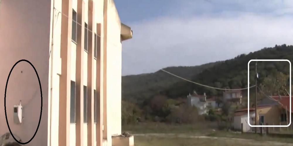 Δήμος Αλεξανδρούπολης: Ρευματοκλοπή πολλών χρόνων από κτίριο του που στεγάζει το ΚΕΠ στα Λουτρά!!!
