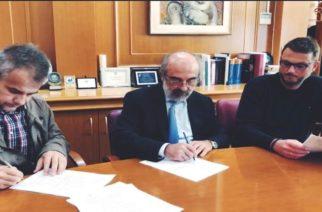 Υπογραφή σύμβασης έργου «Διαμόρφωση χώρου παραλίας στην Αλεξανδρούπολη»