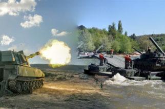 Οι Τούρκοι στήνουν διάβαση Ποταμού, αλλά η Ελλάδα έβγαλε στη φόρα τα… Βαριά (φωτό)