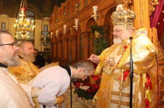 Δυο χειροτονίες στην Ορεστιάδα ανήμερα των Χριστουγέννων απ' τον Μητροπολίτη κ.Δαμασκηνό