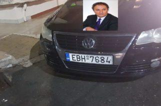 Στον Αντιδήμαρχο Καθαριότητας Χρήστο Ζιώγα ανήκει το παράνομα παρκαρισμένο σε ράμπα ΑΜΕΑ αυτοκίνητο