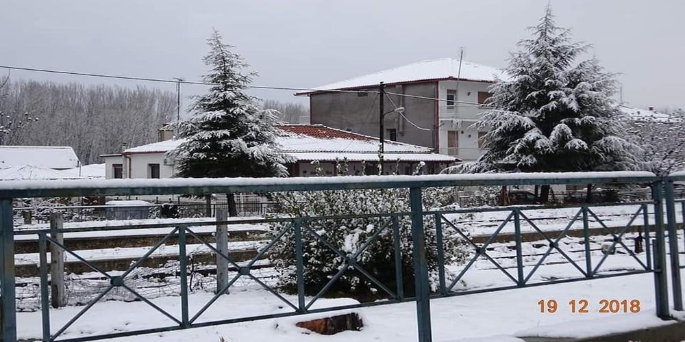 Τα χιονισμένα Δίκαια πανέμορφα όπως και όλα τα χωριά του Έβρου (φωτορεπορτάζ)