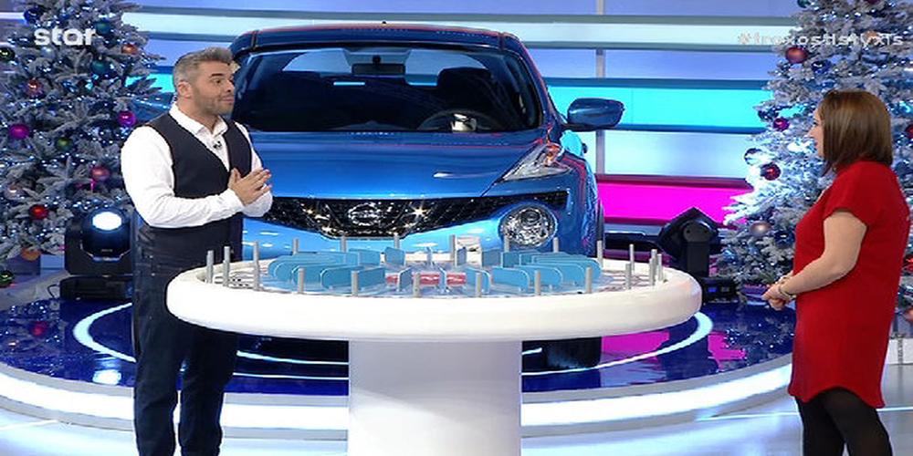 """Η Μαρία απ'τις Καστανιές σάρωσε στον """"Τροχό της Τύχης"""". Κέρδισε το αυτοκίνητο και 5.360 ευρώ!!! (ΒΙΝΤΕΟ)"""