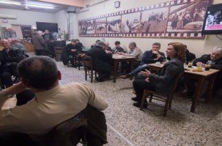 Στον Πεντάλοφο η υποψήφια δήμαρχος Μαρία Γκουγκουσκίδου – Παρών και ο πρώην δήμαρχος Τριγώνου Μ.Χατζηπαναγιώτου