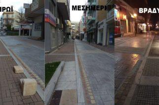 Πεζόδρομος οδού Κύπρου: Ούτε αγαπιέται, ούτε περπατιέται από τους Αλεξανδρουπολίτες (φωτορεπορτάζ)