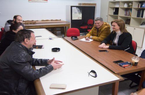 Με την Ένωση Επαγγελματιών και Βιοτεχνών Ορεστιάδας και Περιφέρειας συναντήθηκε η Μαρία Γκουγκουσκίδου