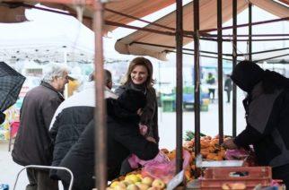 Στη λαϊκή και το ΚΑΠΗ της Ν.Βύσσας η υποψήφια δήμαρχος Ορεστιάδας Μαρία Γκουγκουσκίδου