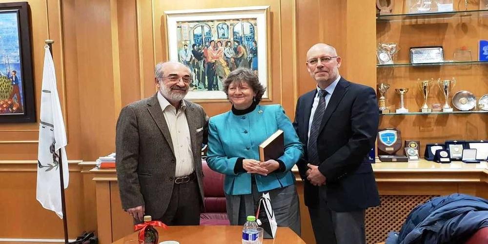Αλεξανδρούπολη: Για χρυσωρυχεία, μεταναστευτικό συζήτησαν Β.Λαμπάκης και επιτετραμμένη της Καναδικής Πρεσβείας στην Ελλάδα
