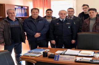 """Αστυνομικοί Αλεξανδρούπολης: Συνάντηση με το νέο Αστυνομικό Διευθυντή Παναγιώτη Καρτάλη και επίσκεψη στο Σύλλογο """"Άγιος Βασίλειος"""""""