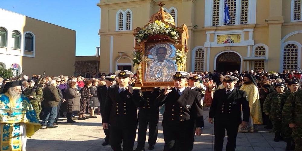 Η Αλεξανδρούπολη γιόρτασε τον Πολιούχο και Προστάτη της Άγιο Νικόλαο (ΒΙΝΤΕΟ+φωτό)