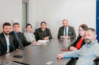 Αλεξανδρούπολη: Επίσκεψη του υποψήφιου δημάρχου Παύλου Μιχαηλίδη, στον Εμπορικό Σύλλογο