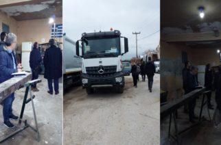 Έφοδος κλιμακίου του ΣΕΠΕ χθες στο γκαράζ του δήμου Αλεξανδρούπολης