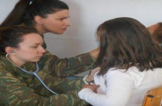 Επίσκεψη και δωρεάν εξετάσεις από Στρατιωτικό Ιατρικό Κλιμάκιο στη Νίψα