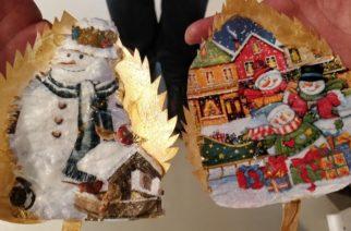 Χριστουγεννιάτικο εργαστήρι στο Σουφλί