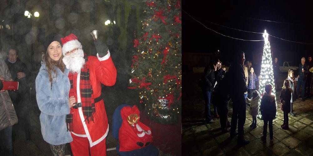 Tα Χριστουγεννιάτικα δέντρα ανάβουν και στα χωριά του Έβρου (ΒΙΝΤΕΟ+φωτό)