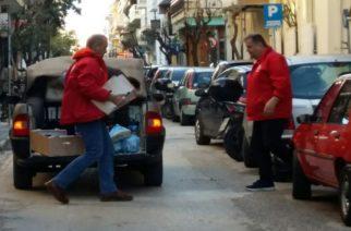 Ο Ελληνικός Ερυθρός Σταυρός Αλεξανδρούπολης μοίρασε δώρα και ευχαριστεί τους χορηγούς του