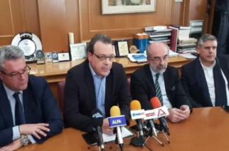Με… αποθέωση Β.Λαμπάκη του υπουργού Σ.Φάμελλου, υπογράφηκε η σύμβαση κατασκευής της Μονάδας Επεξεργασίας Αποβλήτων (ΒΙΝΤΕΟ)